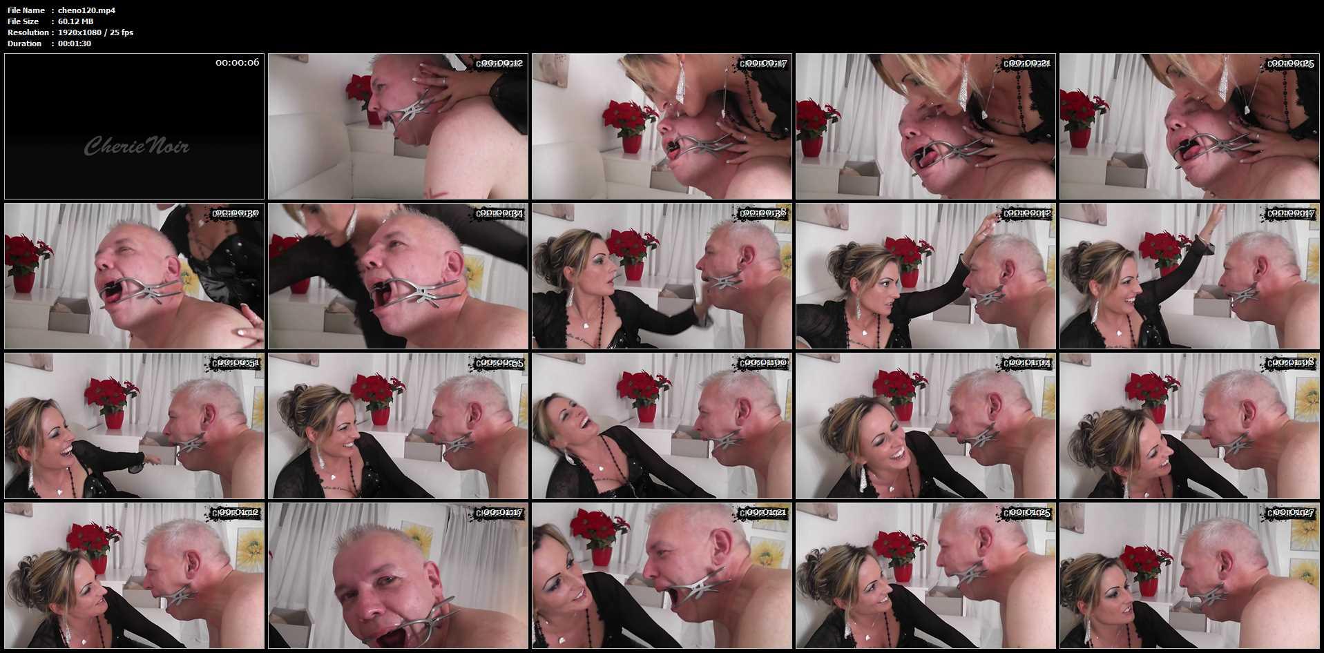 [CHERIE-NOIR] Sabberfresse And Feltschauge. Me Laugh Out Loud. Featuring: Lady Cherie Noir [FULL HD][1080p][MP4]