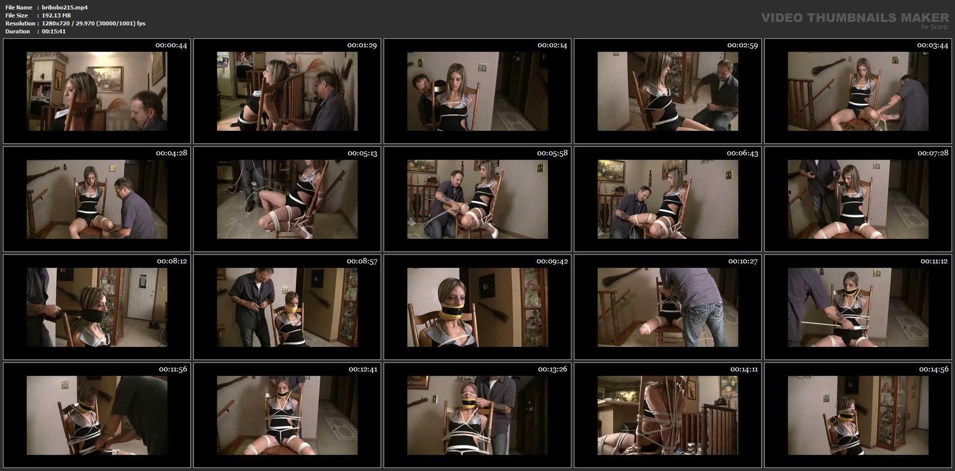 [BRIELLASBONDAGEBOUTIQUE] Briella's Merciless Chair Tie. Featuring: Briella Jaden [HD][720p][MP4]