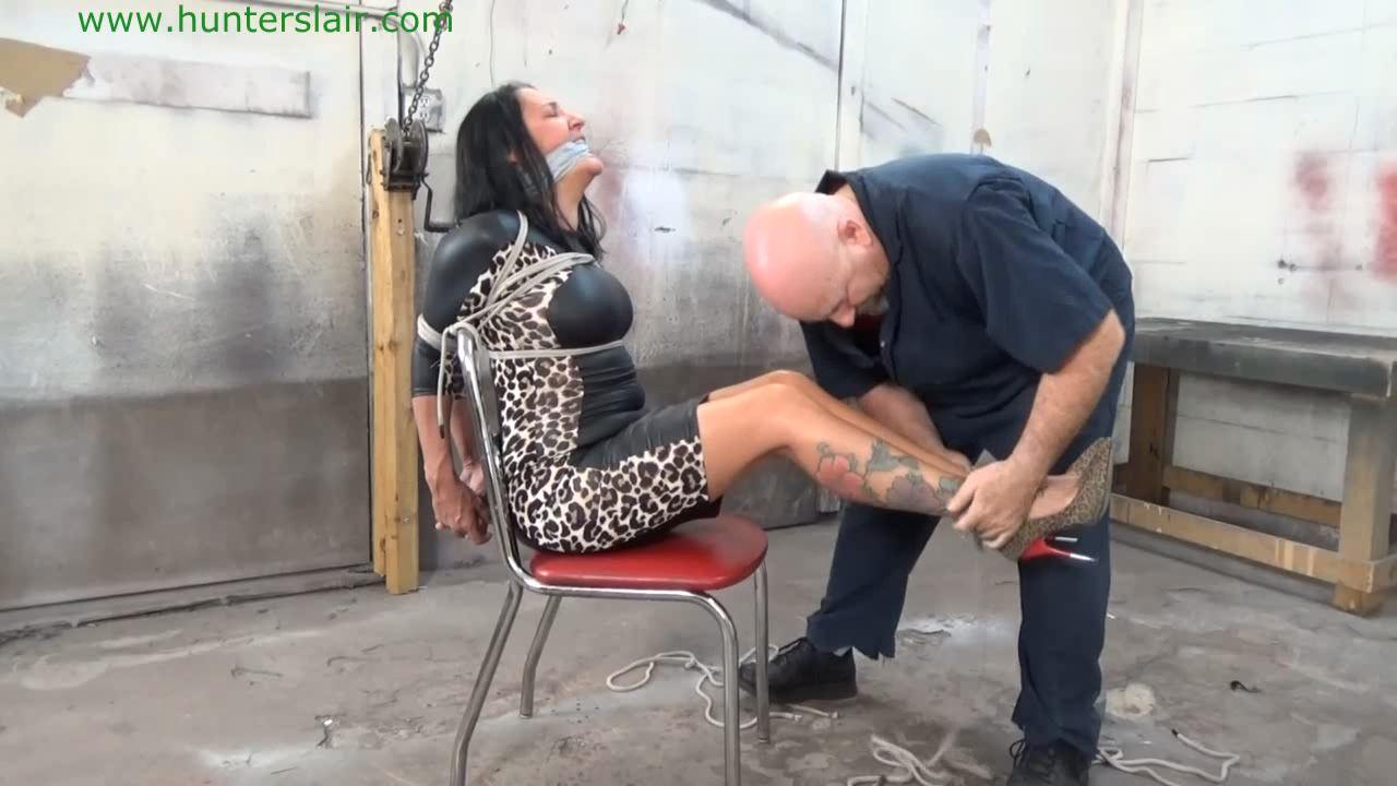 [HUNTERSLAIR] Hair tied chair tied. Featuring: Brenda [HD][720p][MP4]