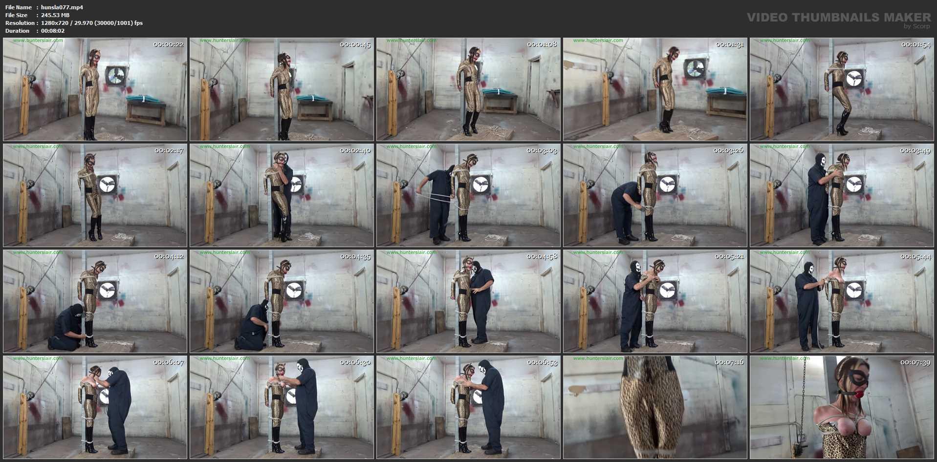 [HUNTERSLAIR] Jaguars brutal breast bound torments. Featuring: Lexi Lane [HD][720p][MP4]