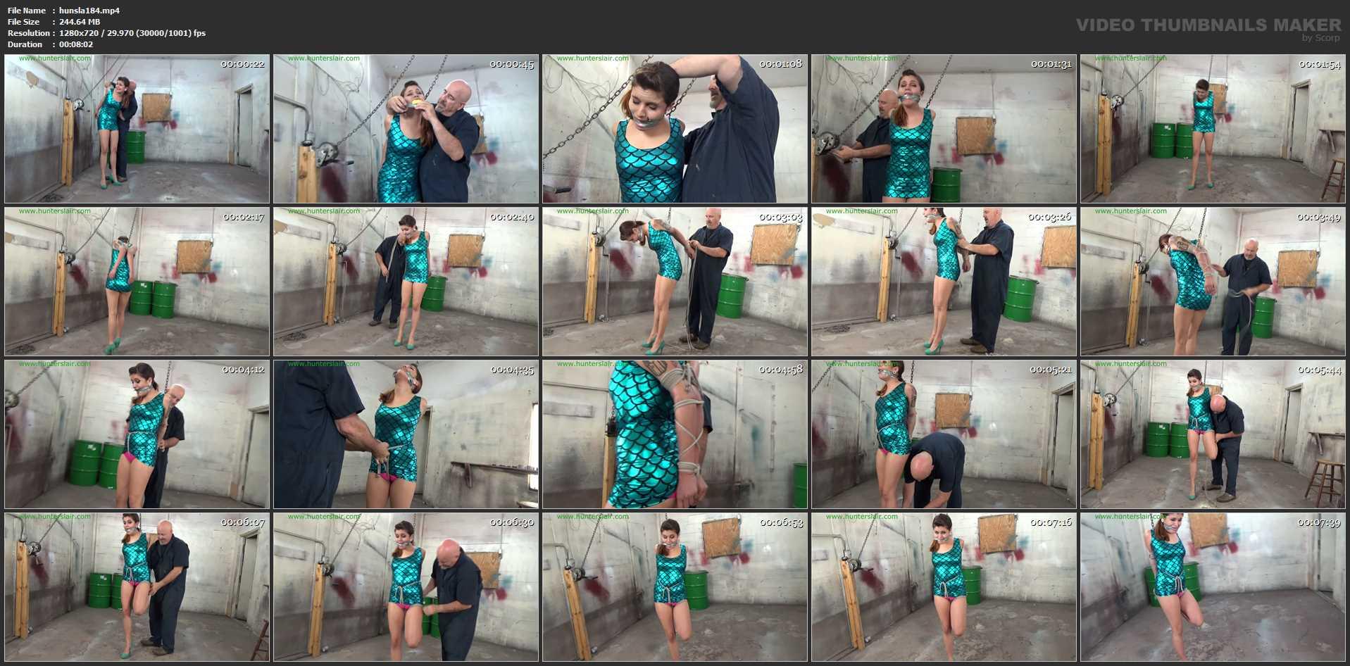 [HUNTERSLAIR] Flamingo crotch roped struggles. Featuring: Raquel Roper [HD][720p][MP4]