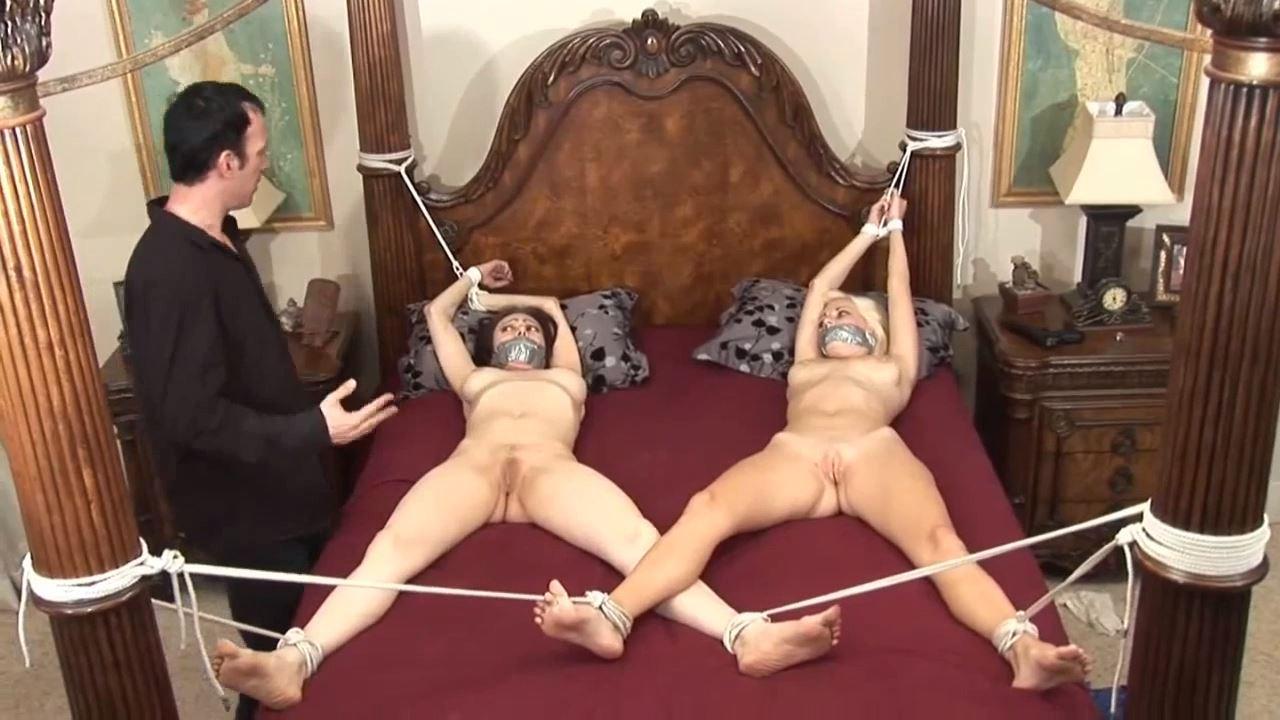 [DAMSEL STYLE BONDAGE & BONDAGE SEX VIDEOS] Natasha & Danielle Tied Nude & Spread for Getting His Sister into Porn. Featuring: Natasha Flade, Danielle Trixi [HD][720p][MP4]